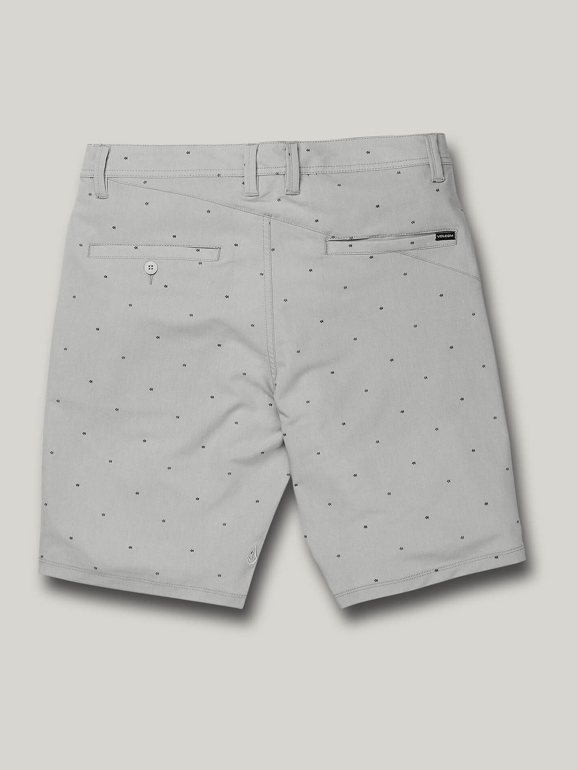 Frickin Surf N' Turf Mix Hybrid Shorts - Tower Grey (A3212003_TWR) [B]