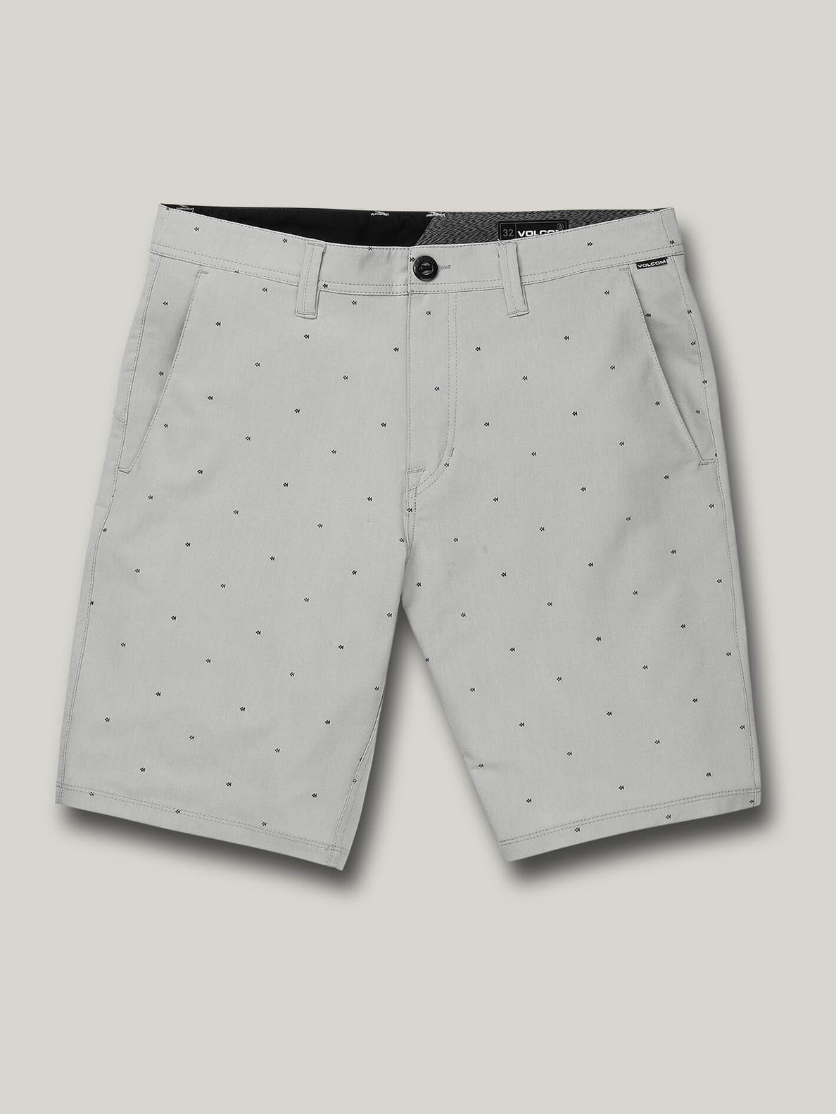 Frickin Surf N' Turf Mix Hybrid Shorts - Tower Grey (A3212003_TWR) [F]