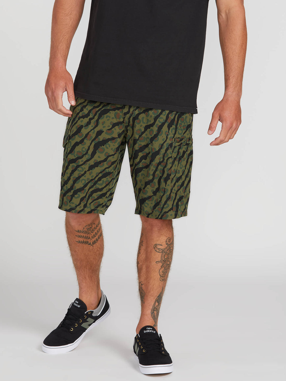 Volcom Mens Surf N Turf Dry 21 Short
