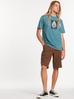 Surf N' Turf Dry Cargo Hybrid Shorts - Vintage Brown (A3212004_VBN) [18]