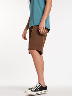 Surf N' Turf Dry Cargo Hybrid Shorts - Vintage Brown (A3212004_VBN) [24]