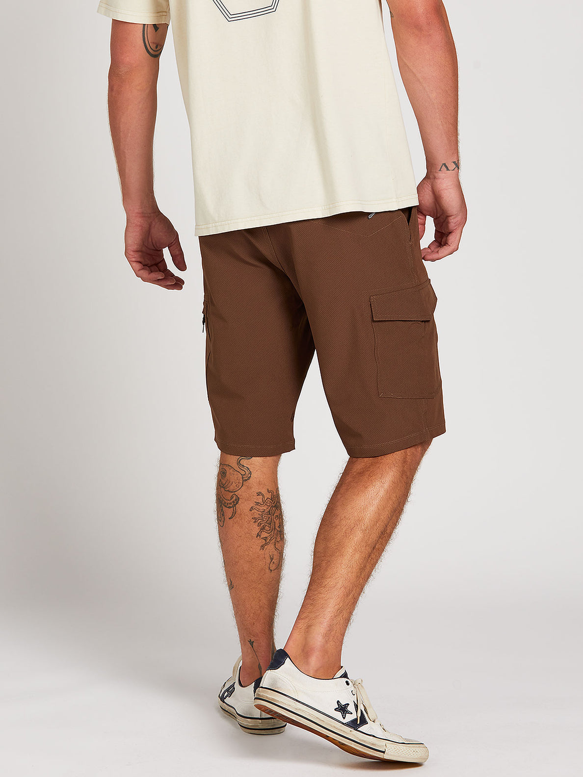 Surf N' Turf Dry Cargo Hybrid Shorts - Vintage Brown (A3212004_VBN) [2]