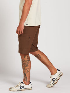 Surf N' Turf Dry Cargo Hybrid Shorts - Vintage Brown (A3212004_VBN) [3]