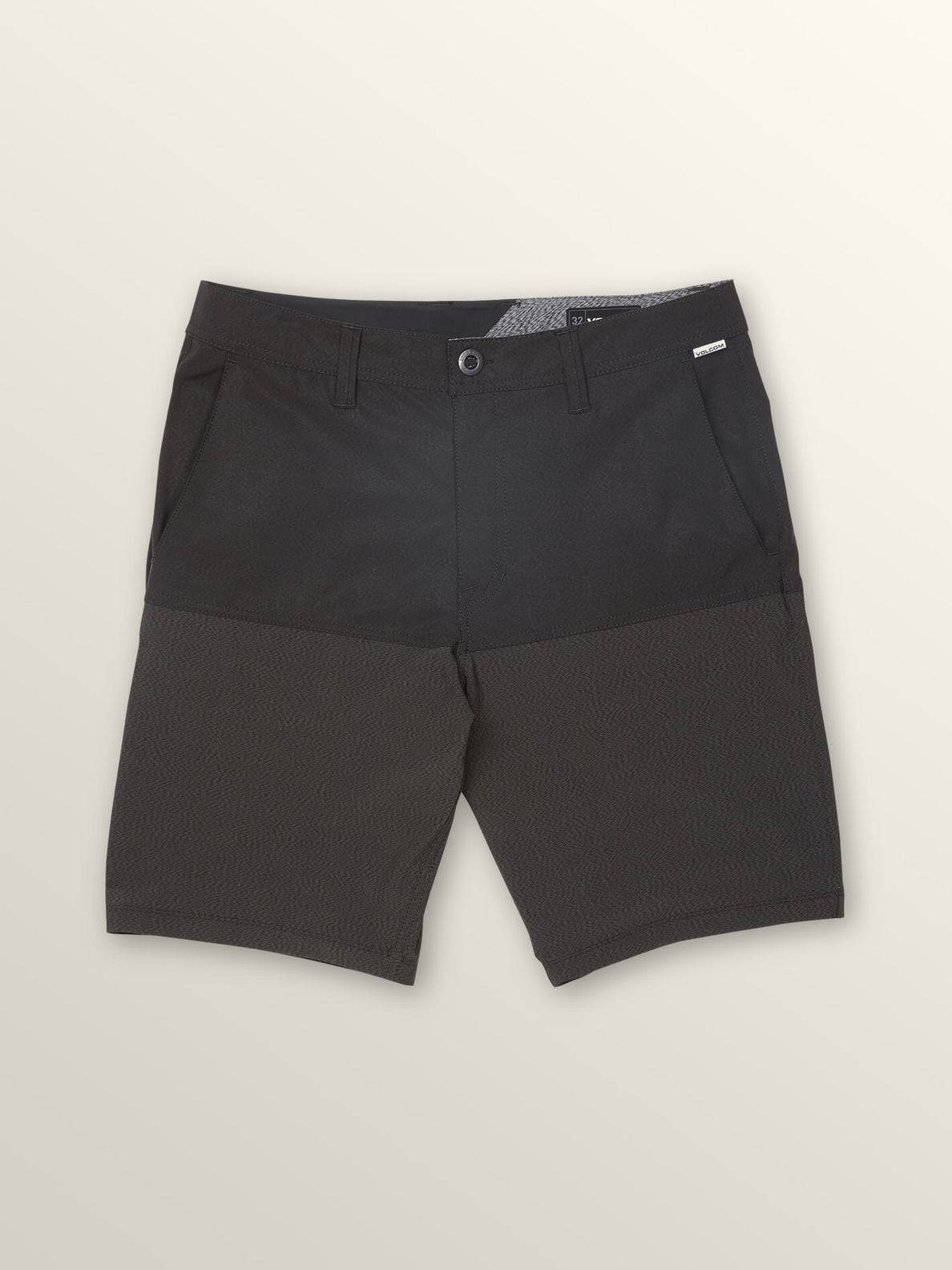 Surf 'N Turf Hybrid Block Hybrid Shorts In Black, Second Alternate View