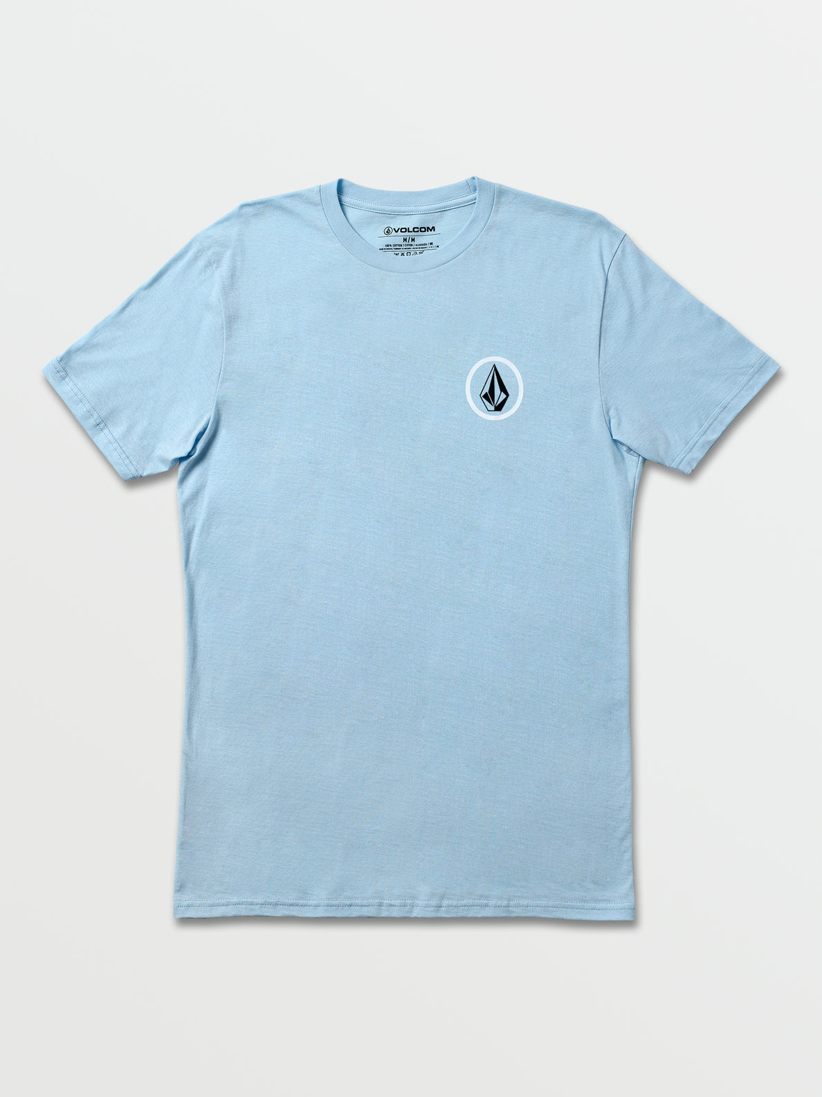 Balanced Stone Short Sleeve Tee - Sea Blue