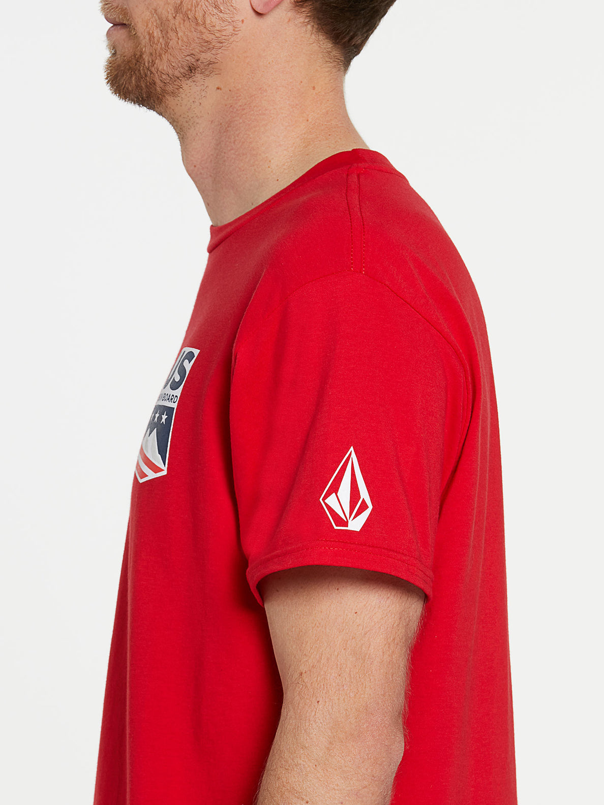 USST Short Sleeve Tee - Red (A3502023_RED) [1]