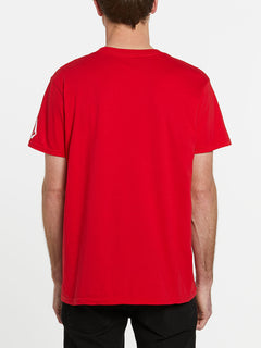 USST Short Sleeve Tee - Red (A3502023_RED) [B]