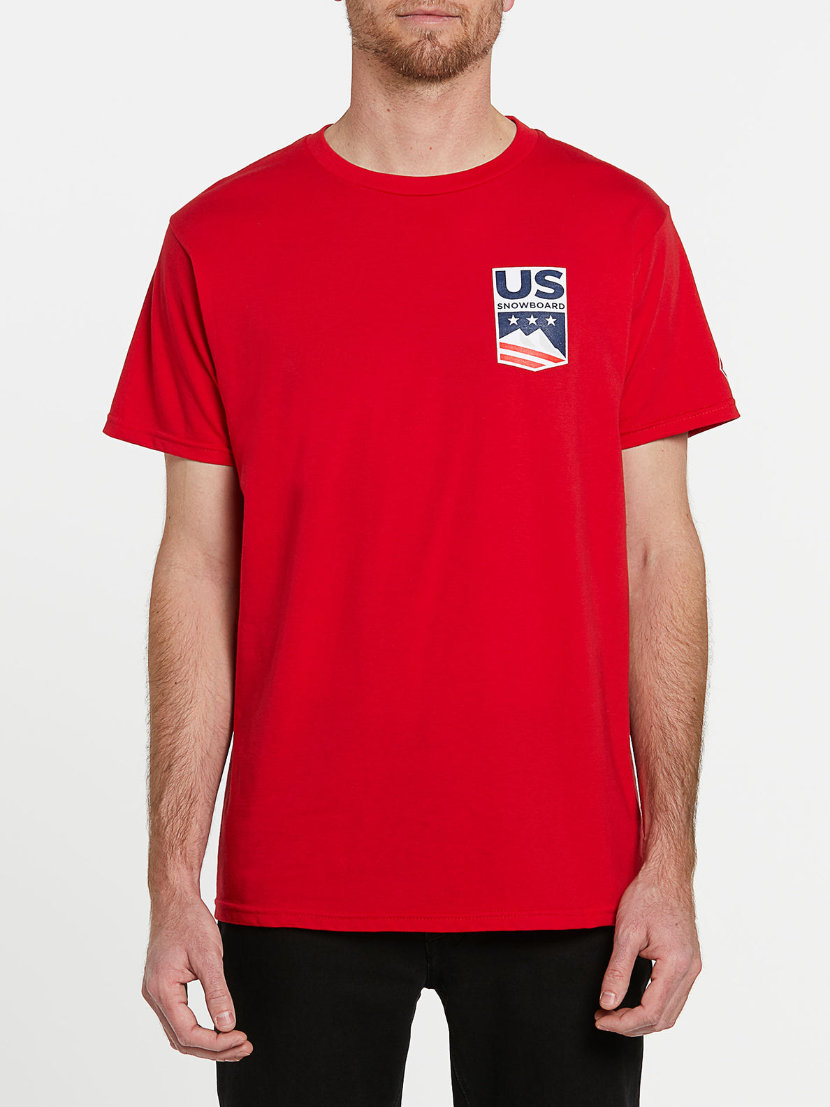 USST Short Sleeve Tee - Red (A3502023_RED) [F]