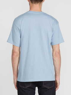 Crisp Euro Short Sleeve Tee - Flight Blue (A3511801_FLB) [B]