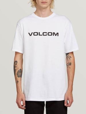 Solid Pocket Short Sleeve Tee - White – Volcom