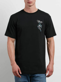 Swingers Saloon Tee In Black, Front View