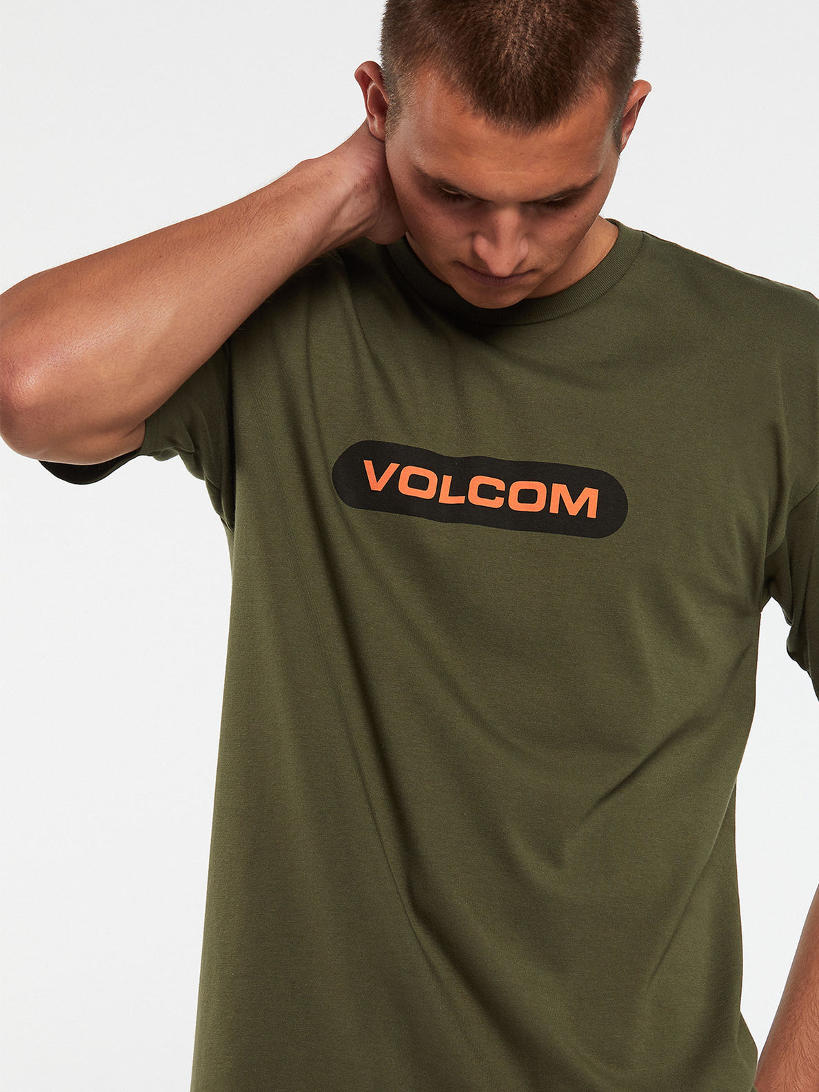 New Euro Short Sleeve Tee - Military (A3512001_MIL) [9]