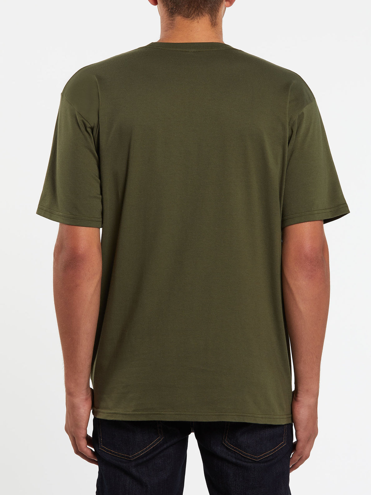 New Euro Short Sleeve Tee - Military (A3512001_MIL) [B]