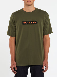 New Euro Short Sleeve Tee - Military (A3512001_MIL) [F]