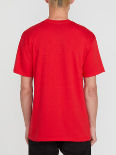 FOR NEVER S/S TEE (A3512003_RED) [B]