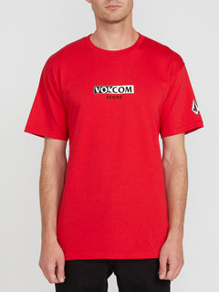FOR NEVER S/S TEE (A3512003_RED) [F]