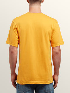 Mystico Short Sleeve Tee In Tangerine, Back View