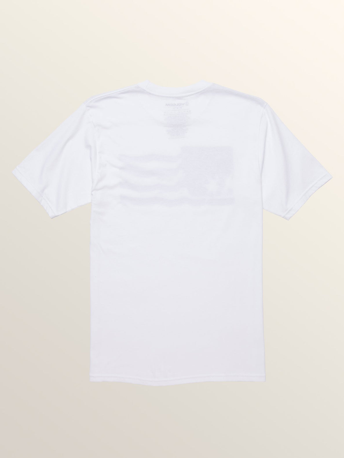 Fersure Short Sleeve Tee In White, Back View