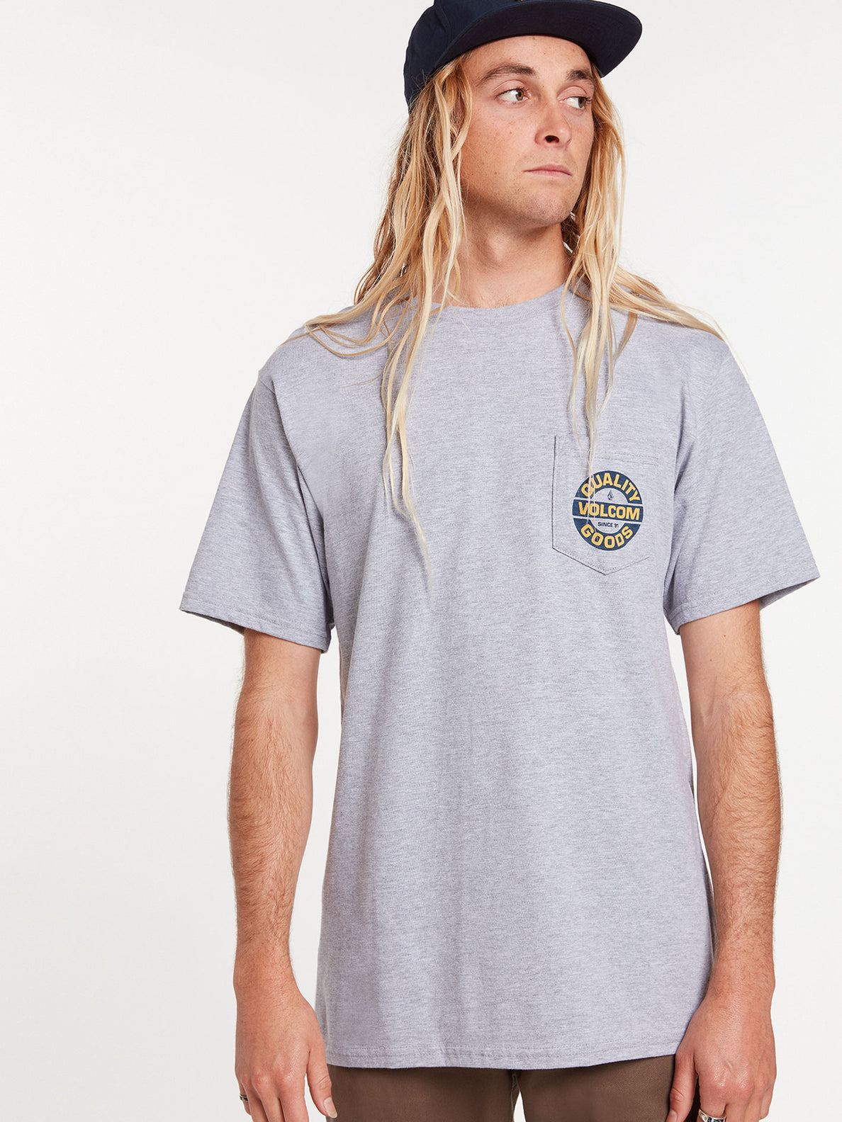 Relief Short Sleeve Pocket Tee - Heather Grey (A3522001_HGR) [41]