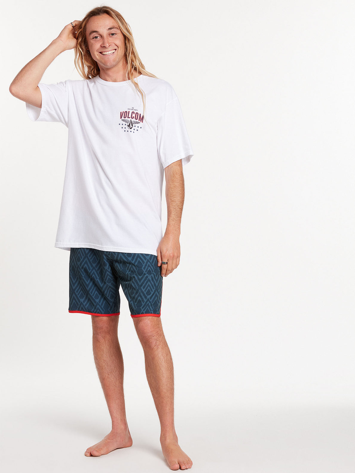 Pro Party Short Sleeve Tee - White (A3522006_WHT) [06]