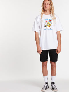 Yew Short Sleeve Tee - White (A3522008_WHT) [22]
