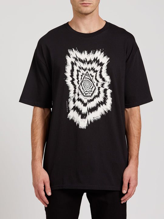 The Projectionist Short Sleeve Tee - Black (A3522009_BLK) [F]