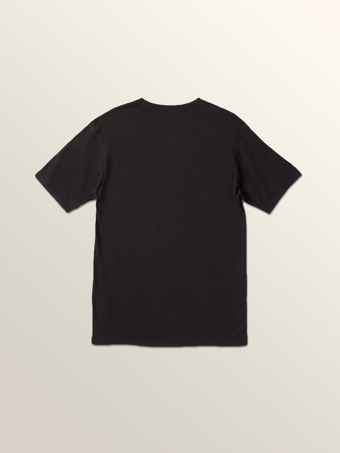 Offhand Short Sleeve Tee In Black, Back View
