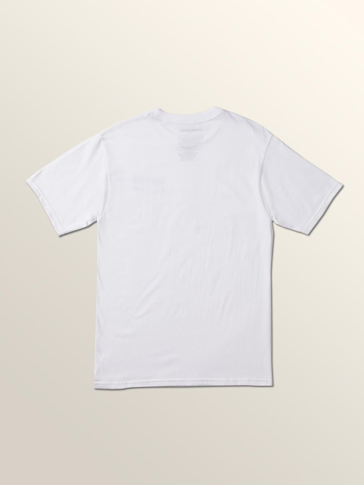 Resource Short Sleeve Tee In White, Back View