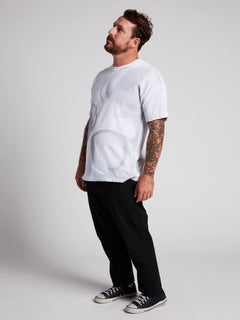 Rogan Gregory X Volcom Ovo-repository Tee In Vintage White, Alternate View