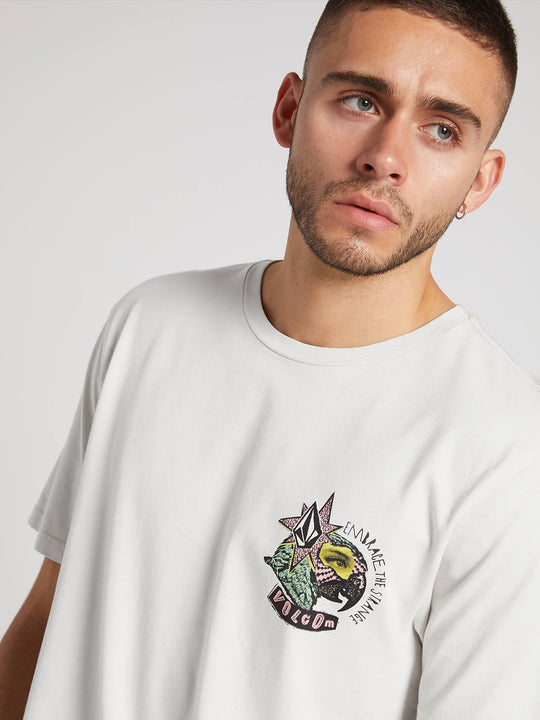 Party Bird Short Sleeve Tee - White (A3531912_WHT) [2]