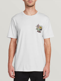 Party Bird Short Sleeve Tee - White (A3531912_WHT) [F]
