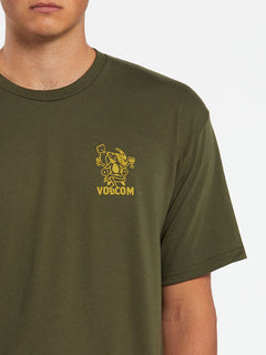 Mariguana Short Sleeve Tee - Military (A3532005_MIL) [1]