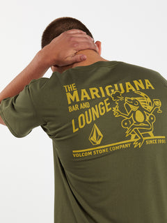 Mariguana Short Sleeve Tee - Military (A3532005_MIL) [2]