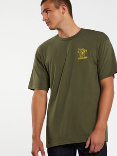Mariguana Short Sleeve Tee - Military (A3532005_MIL) [3]