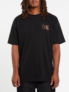 Stonely Short Sleeve Tee - Black (A3532008_BLK) [F]