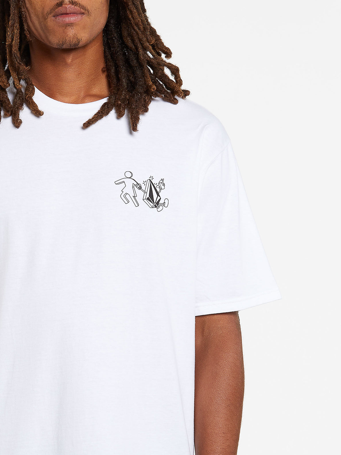 Stonely Short Sleeve Tee - White (A3532008_WHT) [1]
