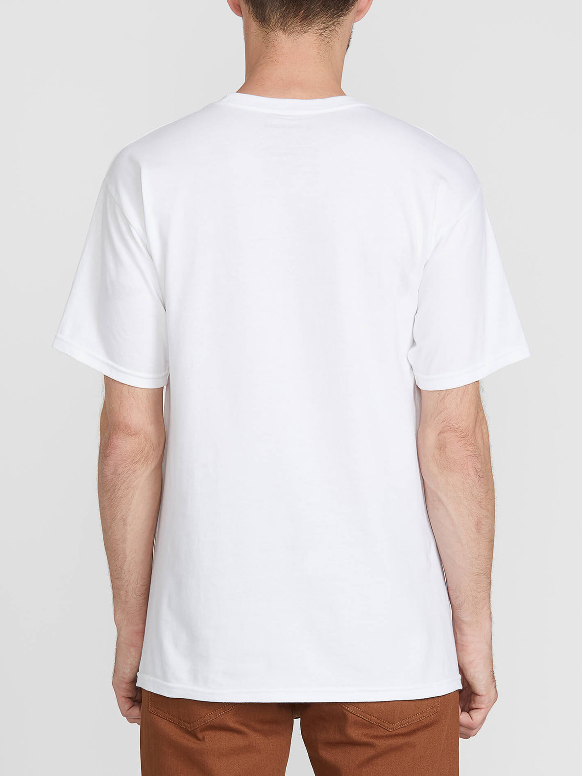 Cradeled Short Sleeve Tee - White (A3541902_WHT) [B]