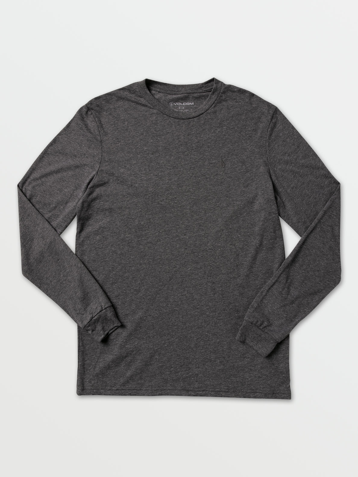 Via Stone Long Sleeve  - Graphite Heather (A3601951_GPH) [F]