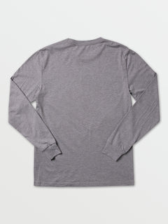 Via Stone Long Sleeve  - Heather Grey (A3601951_HGR) [B]