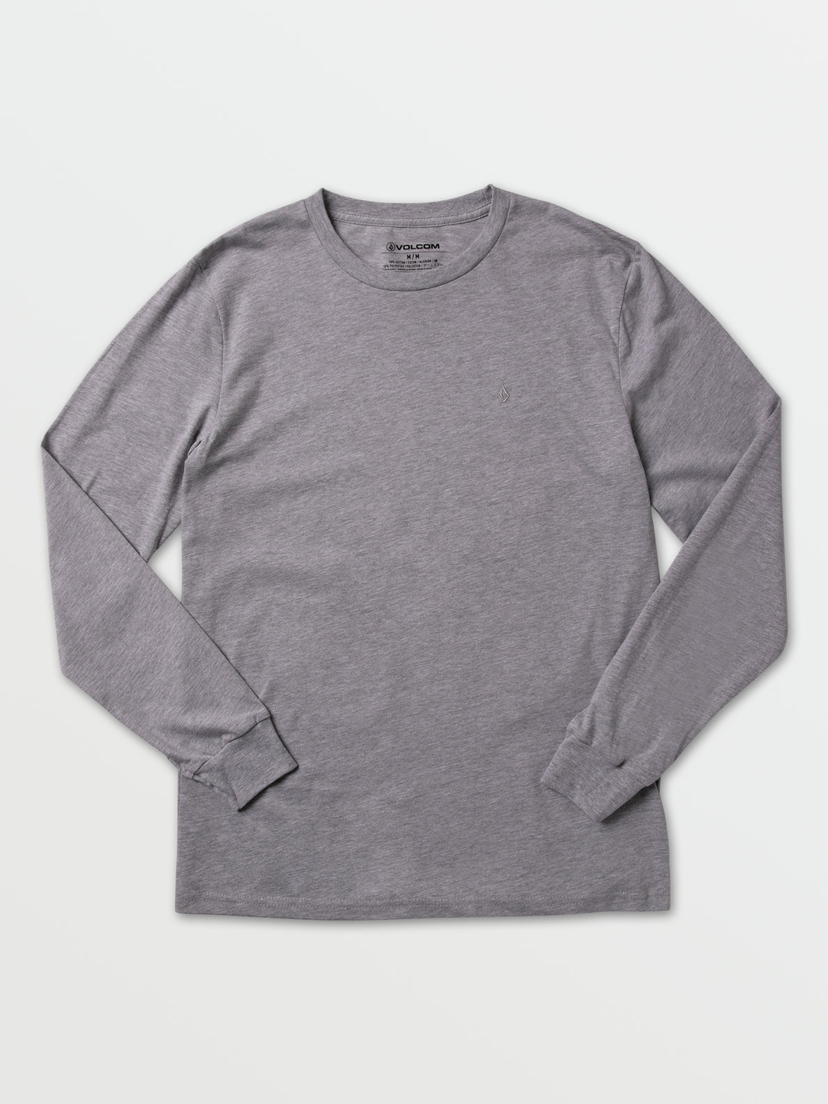Via Stone Long Sleeve  - Heather Grey