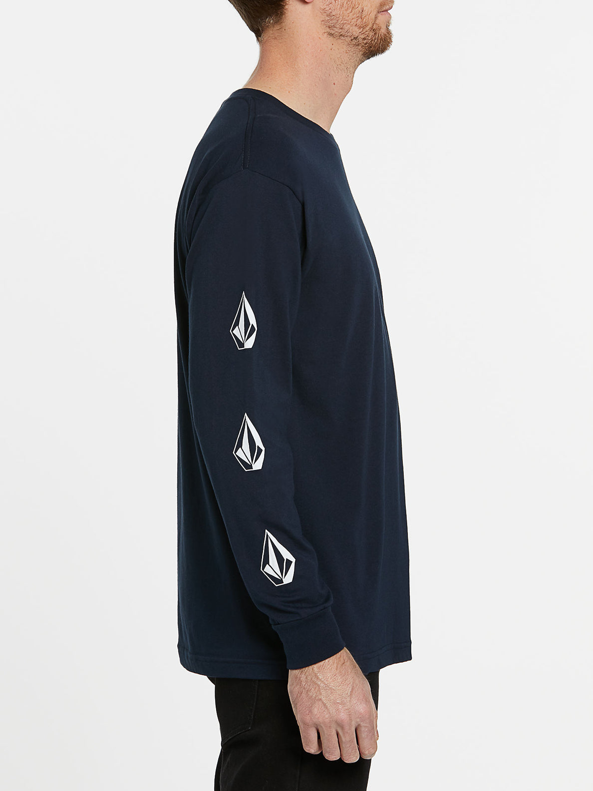 USST Deadly Stones Long Sleeve Tee - Navy (A3602010_NVY) [1]