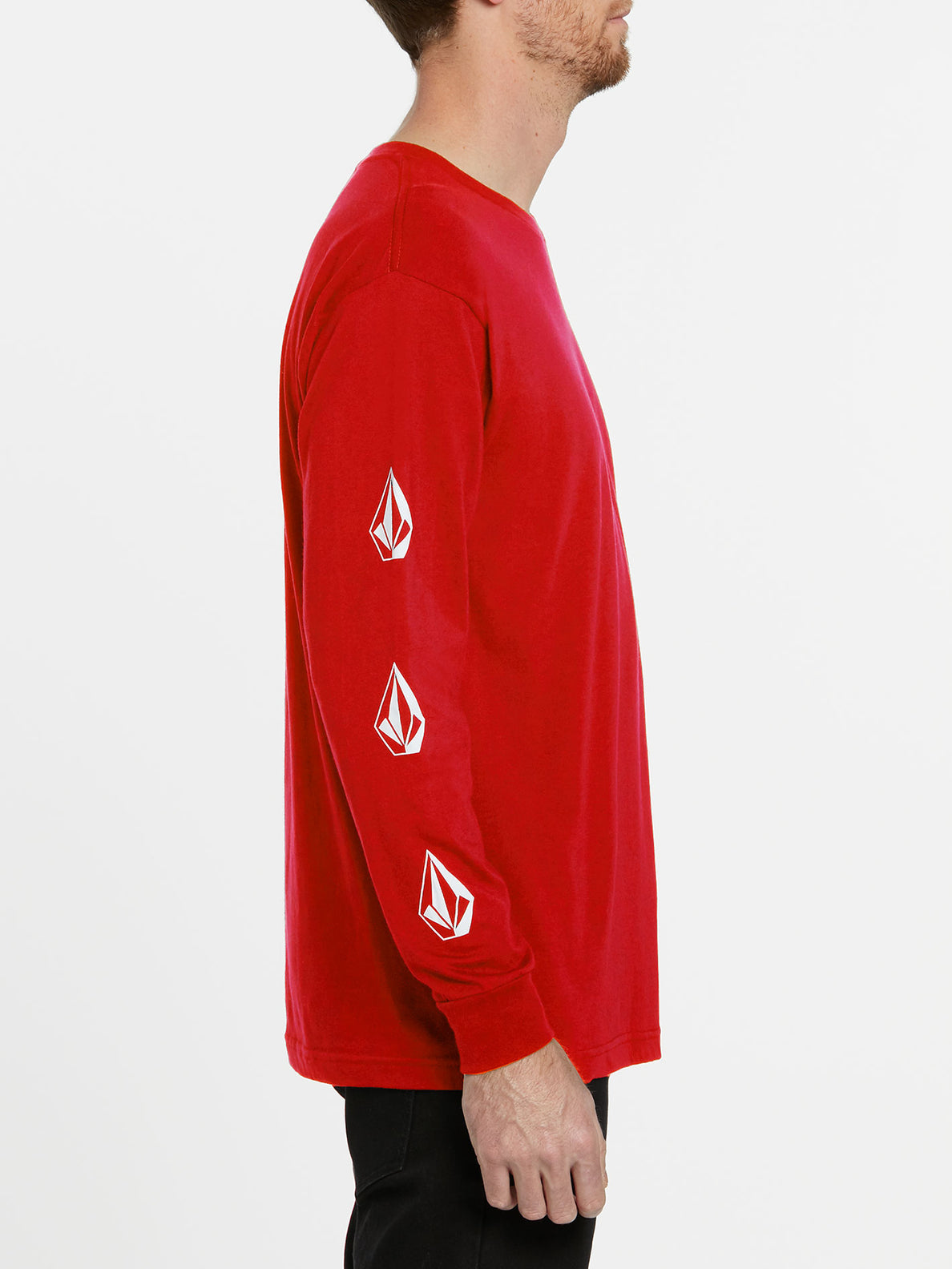 USST Deadly Stones Long Sleeve Tee - Red (A3602010_RED) [1]