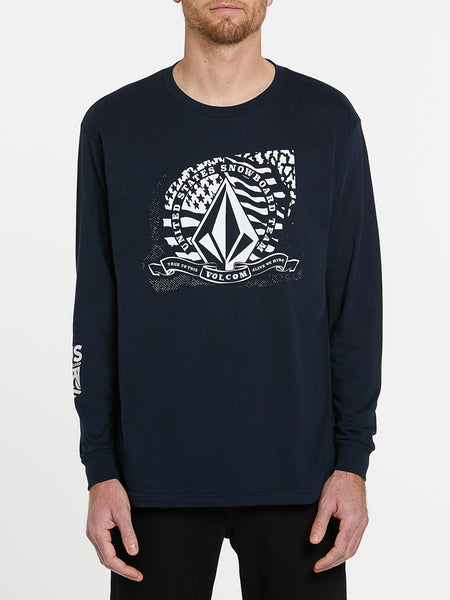 USST Long Sleeve Tee - Navy