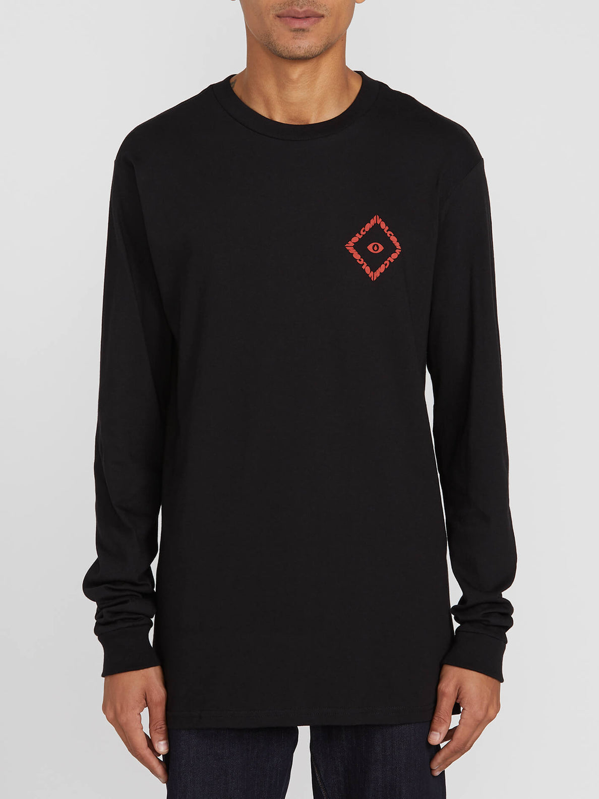 TEMPLE L/S TEE (A3612003_BLK) [F]