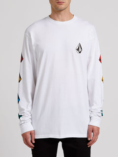 Deadly Stones Long Sleeve Tee - White Combo (A3612004_WTC) [F]