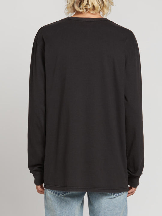 Mag Sketch Long Sleeve Tee (A3621900_BLK) [B]
