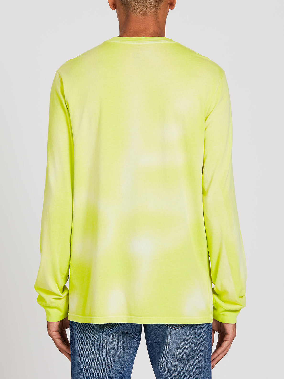 Burch Long Sleeve Tee - Hilighter Green (A3622001_HIG) [B]