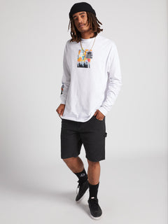 Power Long Sleeve Tee - White (A3631905_WHT) [2]