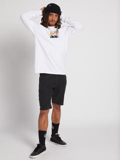 Power Long Sleeve Tee - White (A3631905_WHT) [3]