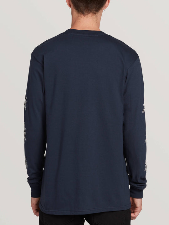 Family Stones Ls Tee - Navy (A3631907_NVY) [B]